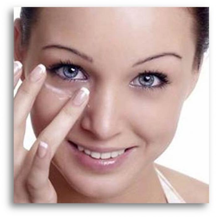 gonfiore sotto l'occhio sinistro