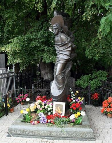 Vagankovskoye hřbitov v Moskvě