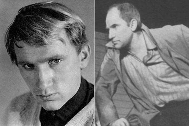 Валери Баринов в младостта си