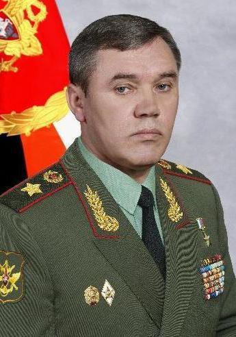 Generale dell'esercito Valery Gerasimov