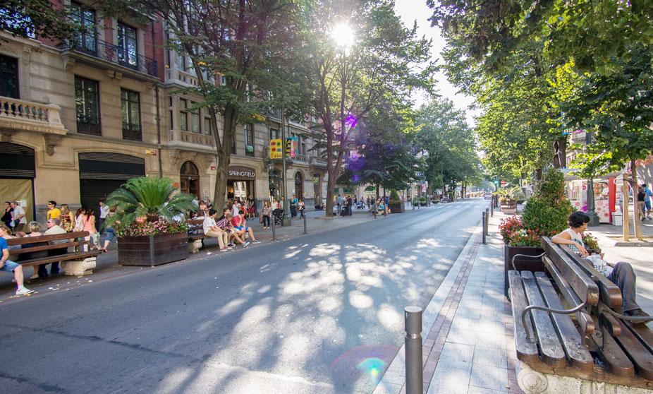 Gran Via a Bilbao