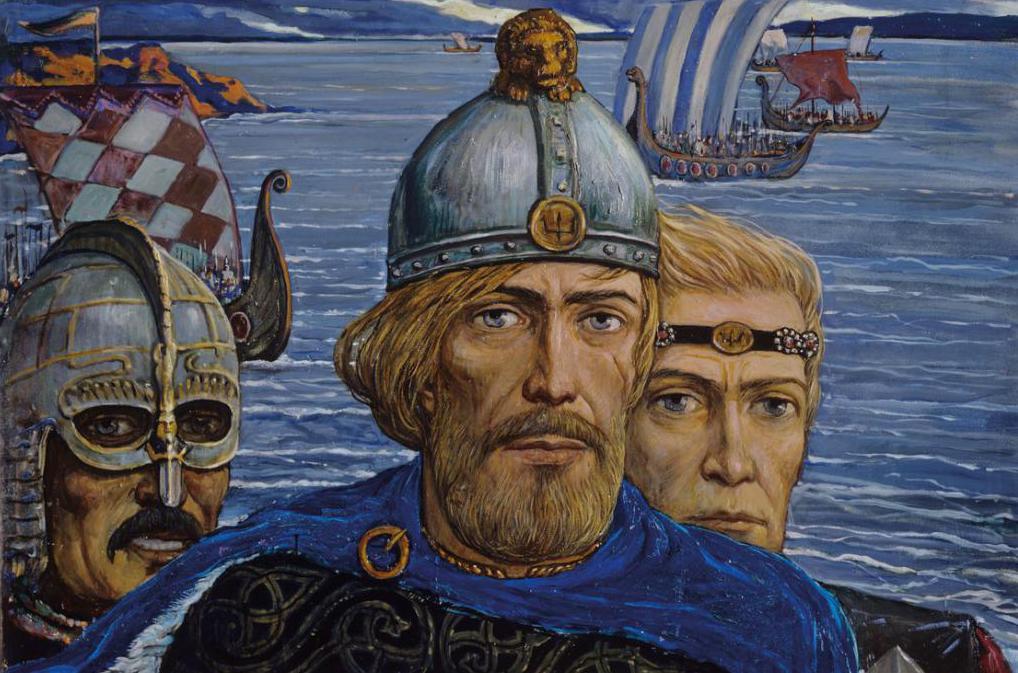 Може би викингите - славяни