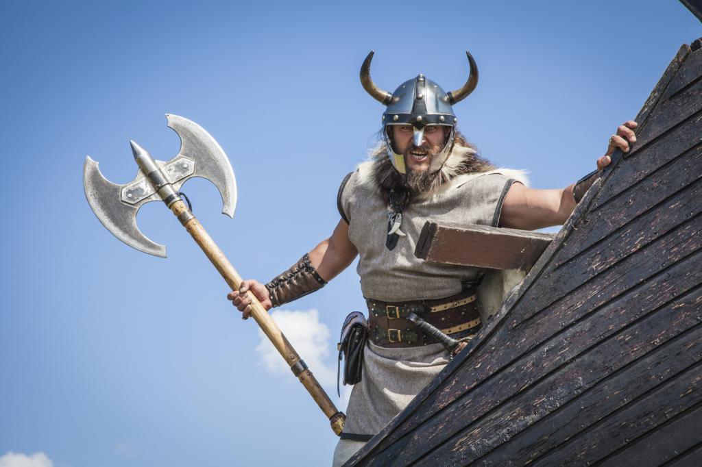 Може би викингите - викингите?