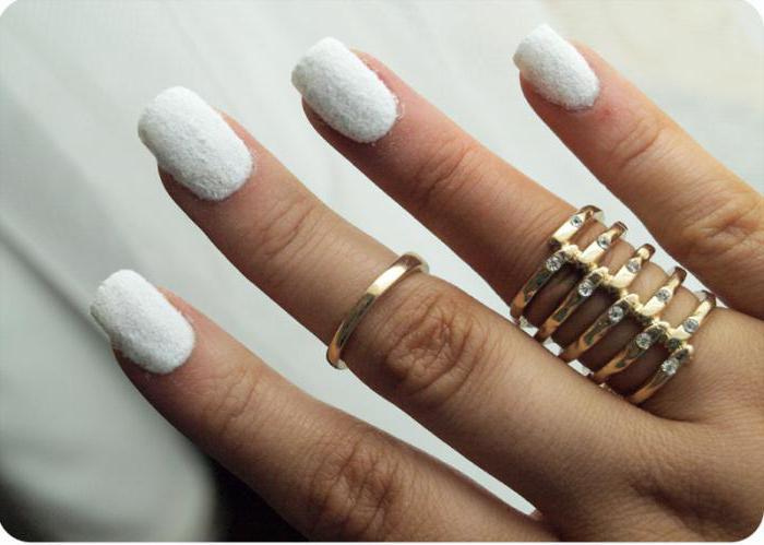 velluto manicure