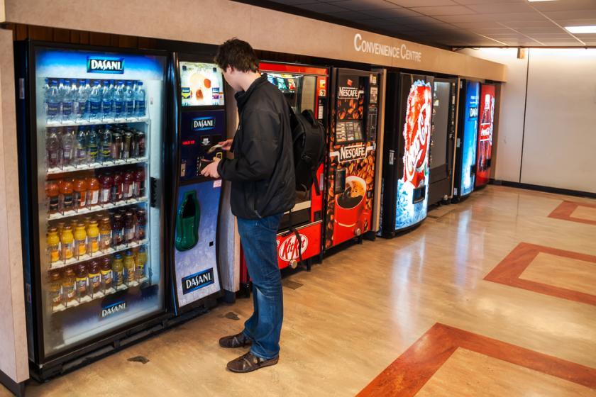 affari con distributori automatici