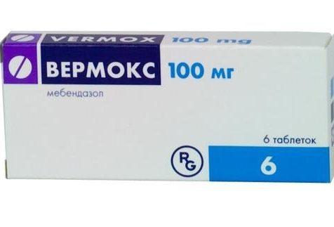 tablete vermox viermi în ochi
