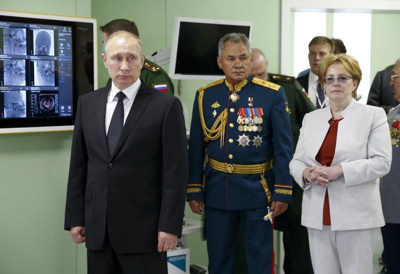 Veronika Skvortsova Minister zdrowia