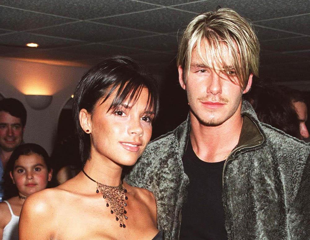 Mladá Victoria a David Beckham