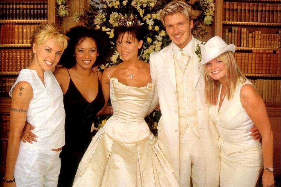 Beckham svatební hosté