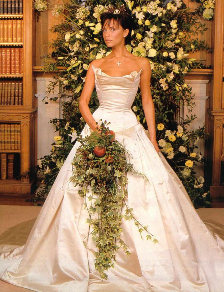 Beckham šaty od Victoria Wong