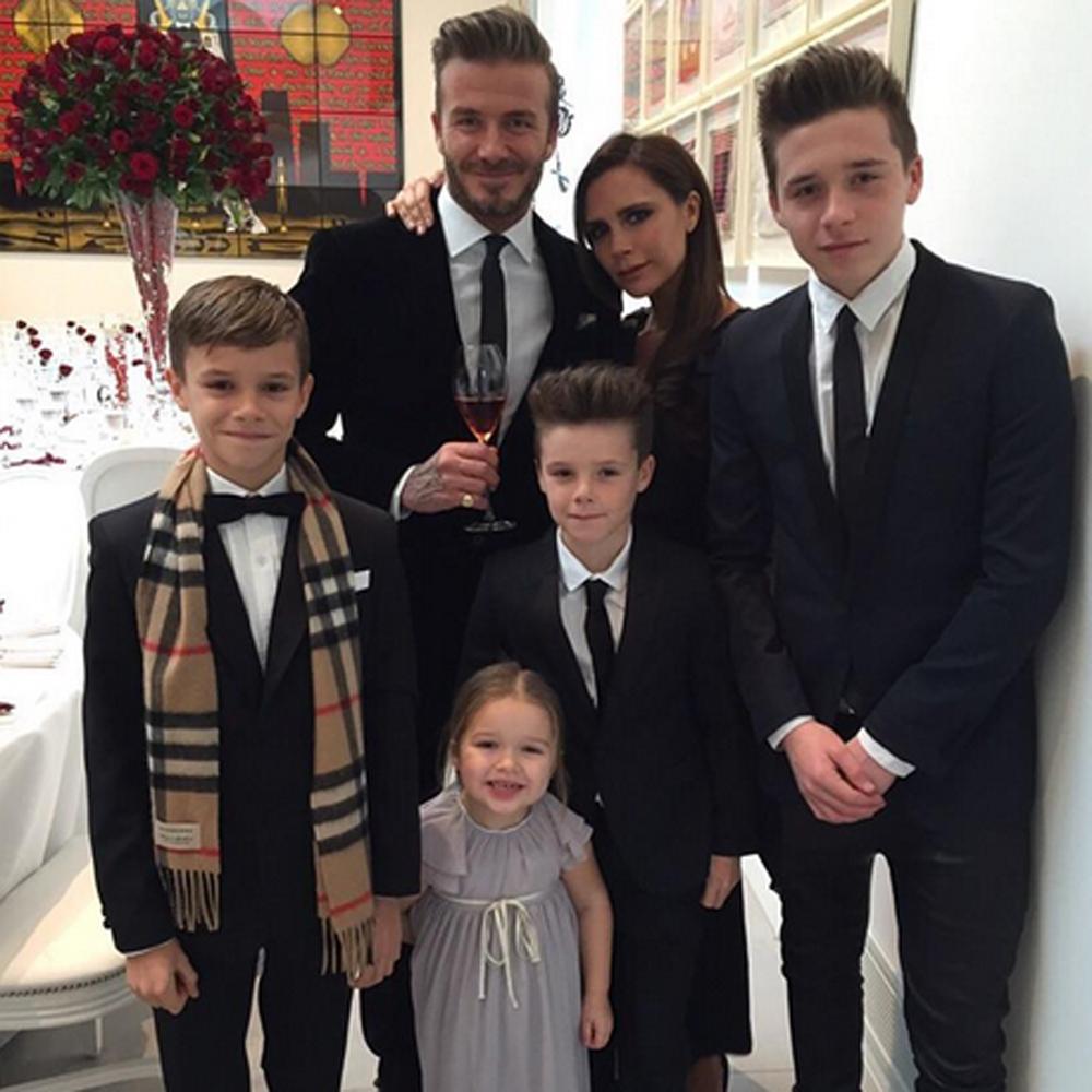 Famiglia Victoria Beckham