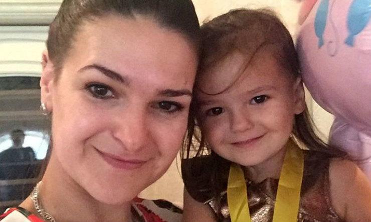 Victoria e sua figlia Vary