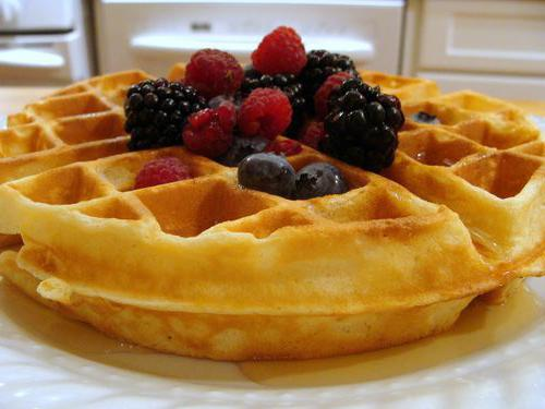 Ricetta waffle viennese per waffle