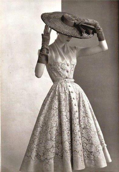 vintage večerna obleka