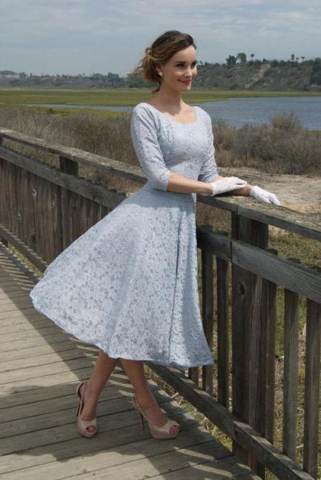 vintage obleko fotografijo