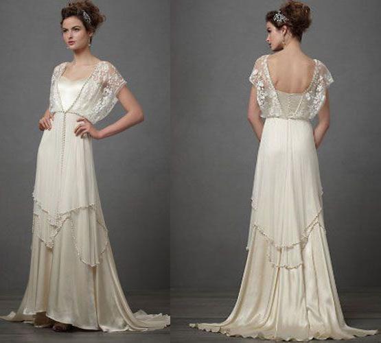 vintage poročne obleke