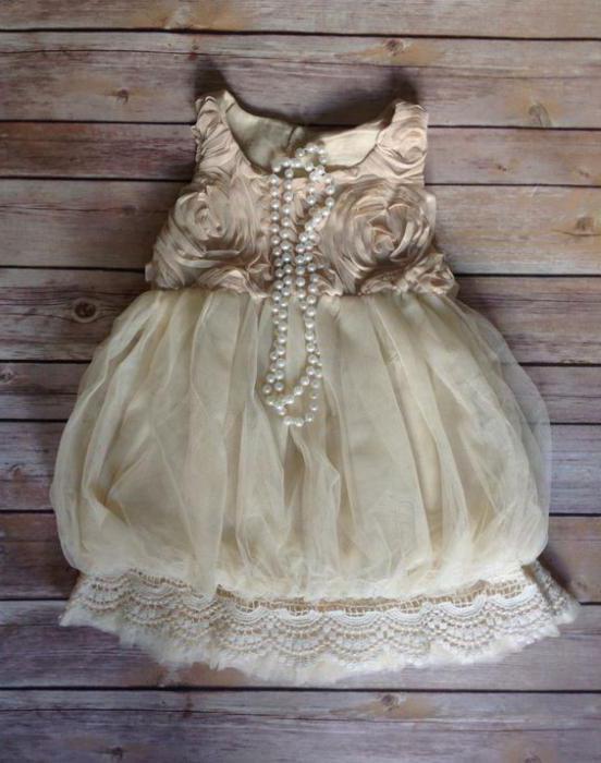 vintage obleke za dekleta