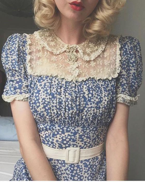 vintage obleke