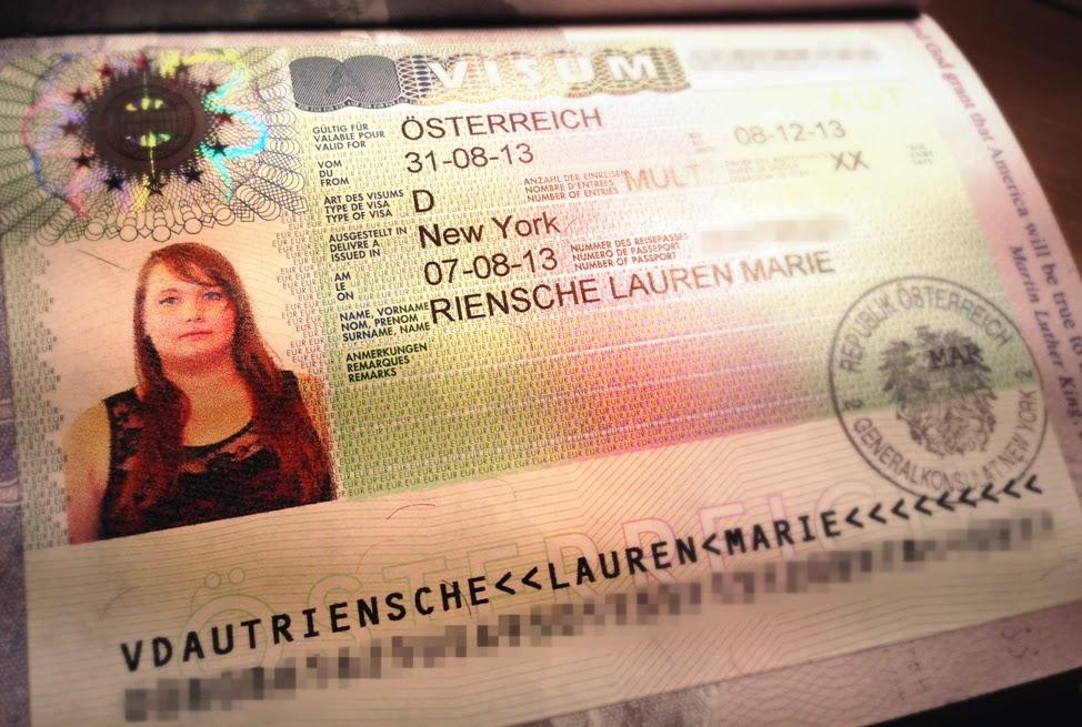 Visto Schengen in Austria