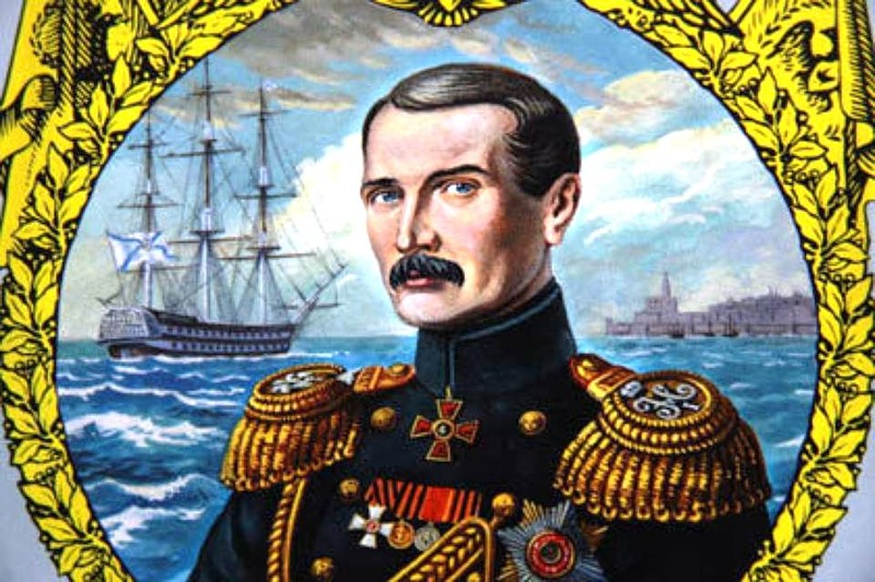 Изтъкнат руски военноморски командир В.А. Корнилов