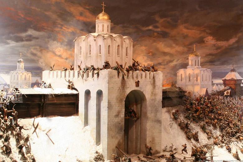 mesto Vladimir Golden Gate
