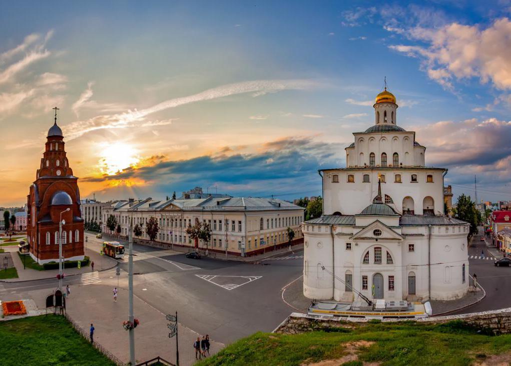zlati vitli v Vladimirju