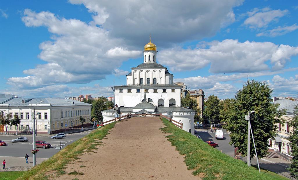 Zlata vrata v Vladimirju 12. stoletja