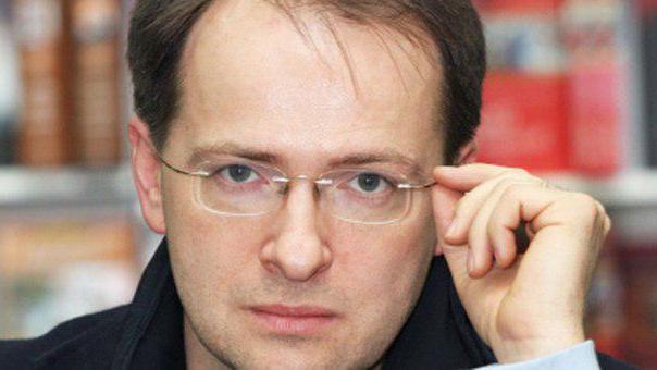 Minister za kulturo Ruske federacije Vladimir Medina