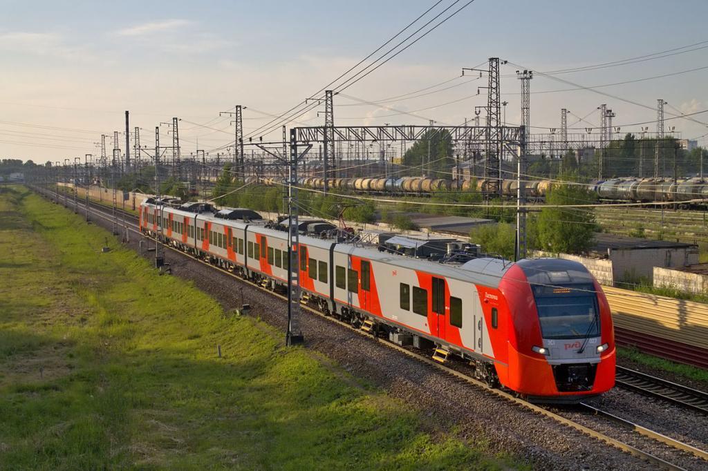 pociąg Władywostok Chabarowsk