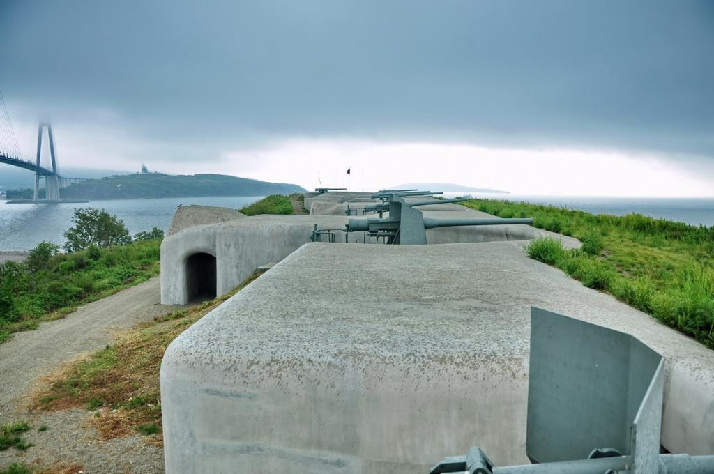 Fortezza del mare di Vladivostok