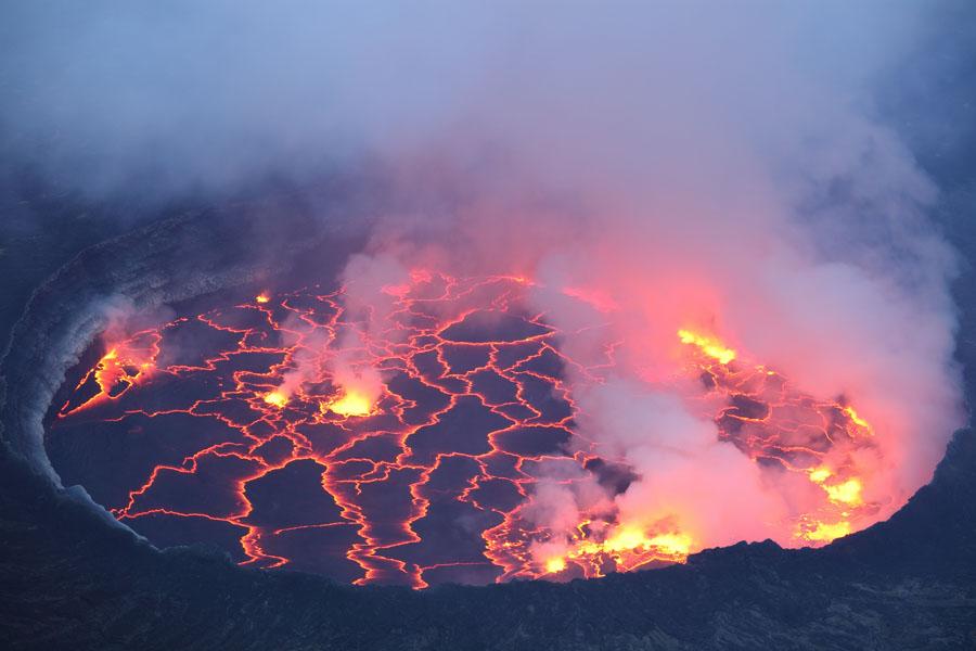 lava jezero erebus