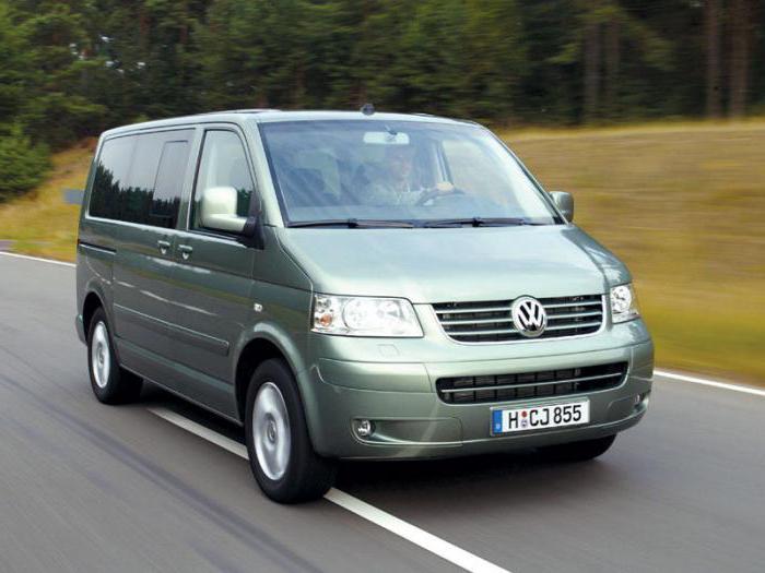 volkswagen transporter t5 specifiche