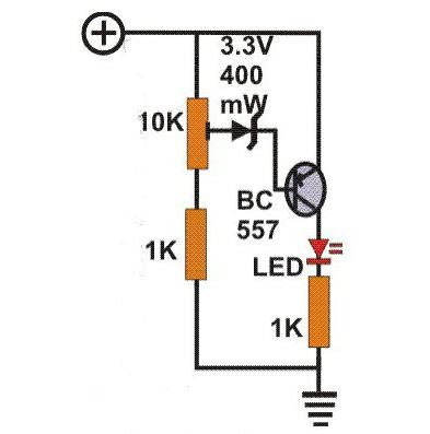 circuito indicatore di tensione