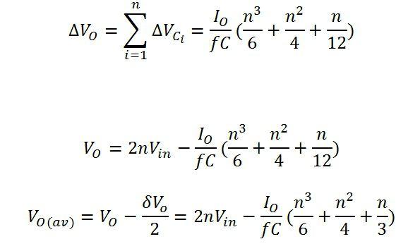 calcolo del moltiplicatore di tensione