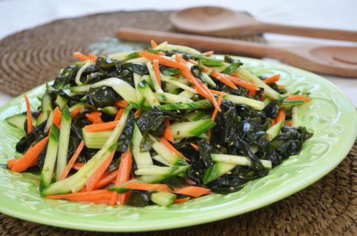ricette wakame alghe
