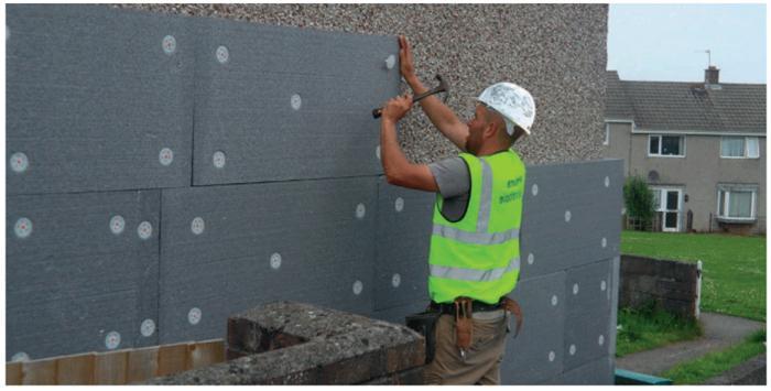 izolace zdi mimo pěnu