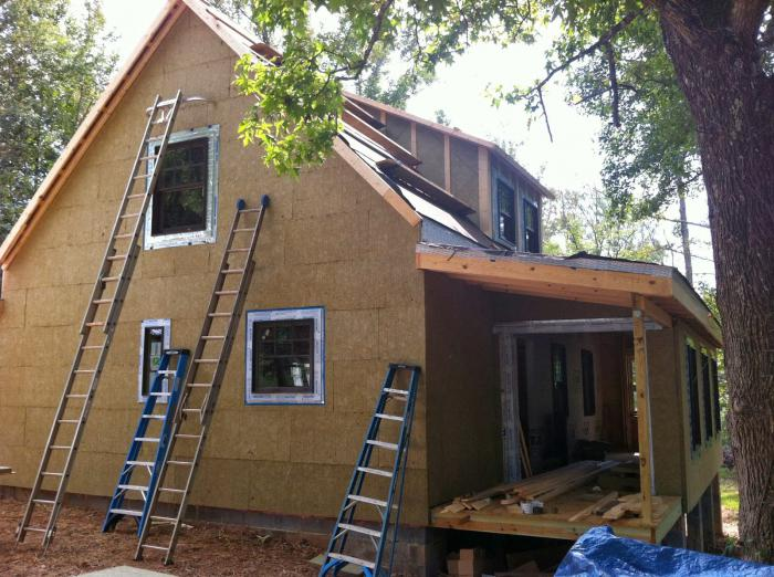 izolace dřevěných stěn venku