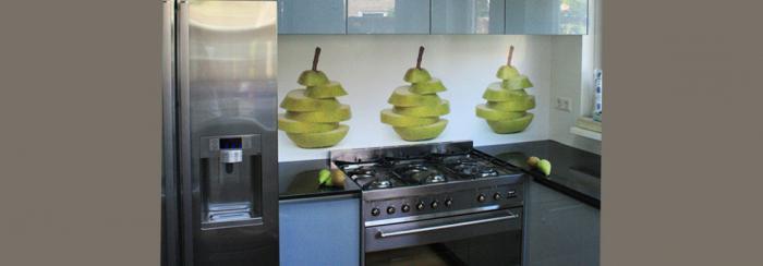 panele ścienne w kuchni