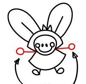 come disegnare la coda di fata