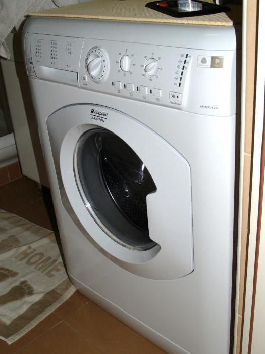 wbudowany hotpoint ariston pralki