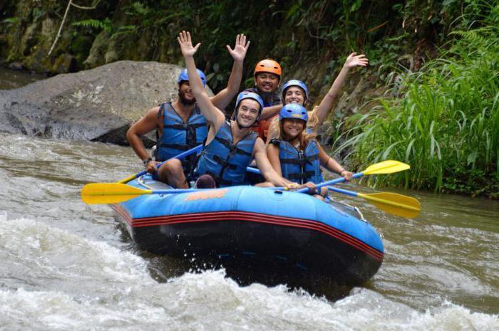 rafting na planinskim rijekama