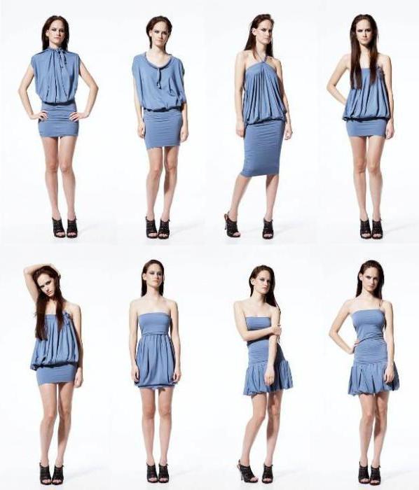 trasformatore vestito come legare