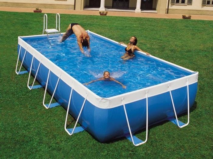 quale piscina è meglio telaio o gonfiabile