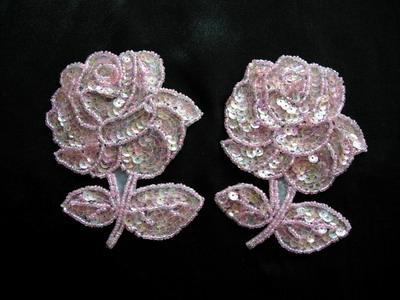 rože iz kroglic z lastnimi rokami