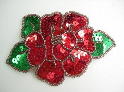 tkanje rožnih kroglic