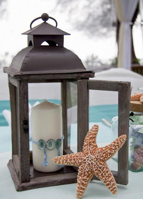 foto di candele di nozze