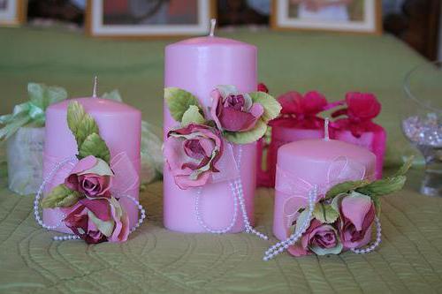 master di candele di nozze