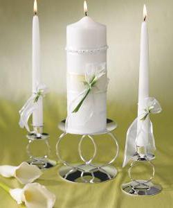 candele di nozze