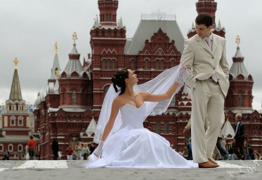 руски сватбени церемонии