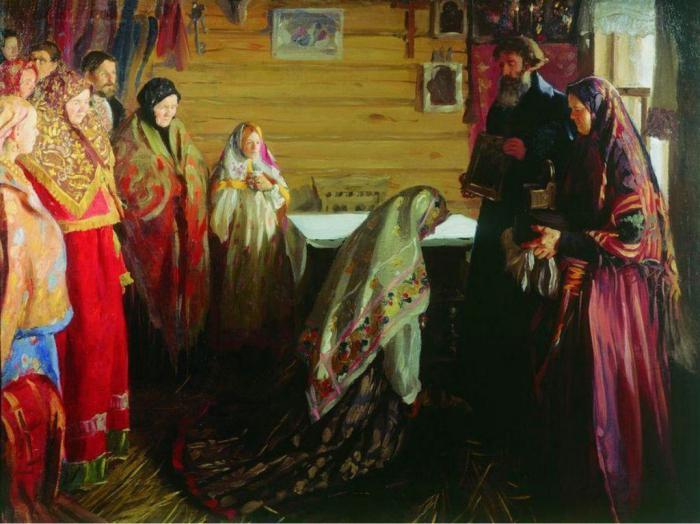 сватбени церемонии в Русия